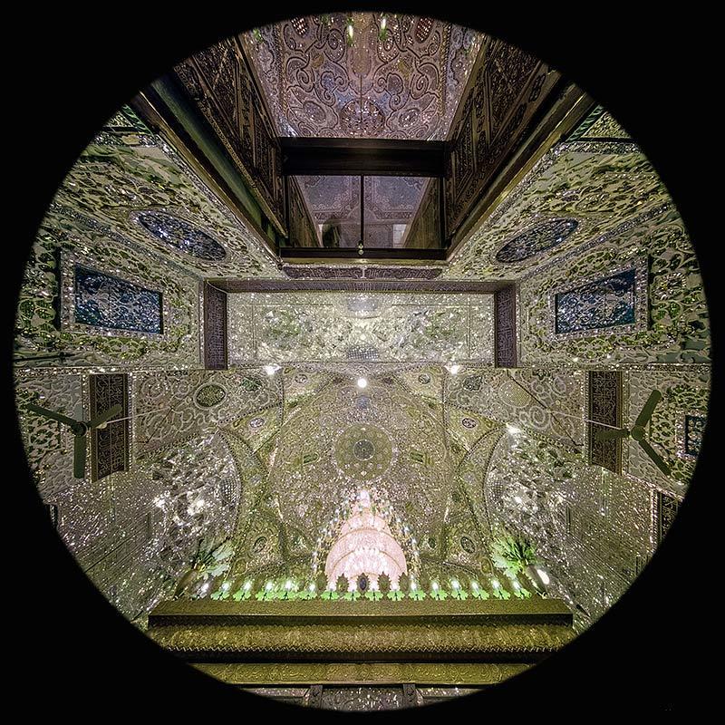 the Imamzadeh Hossein Mosque, Qazvin