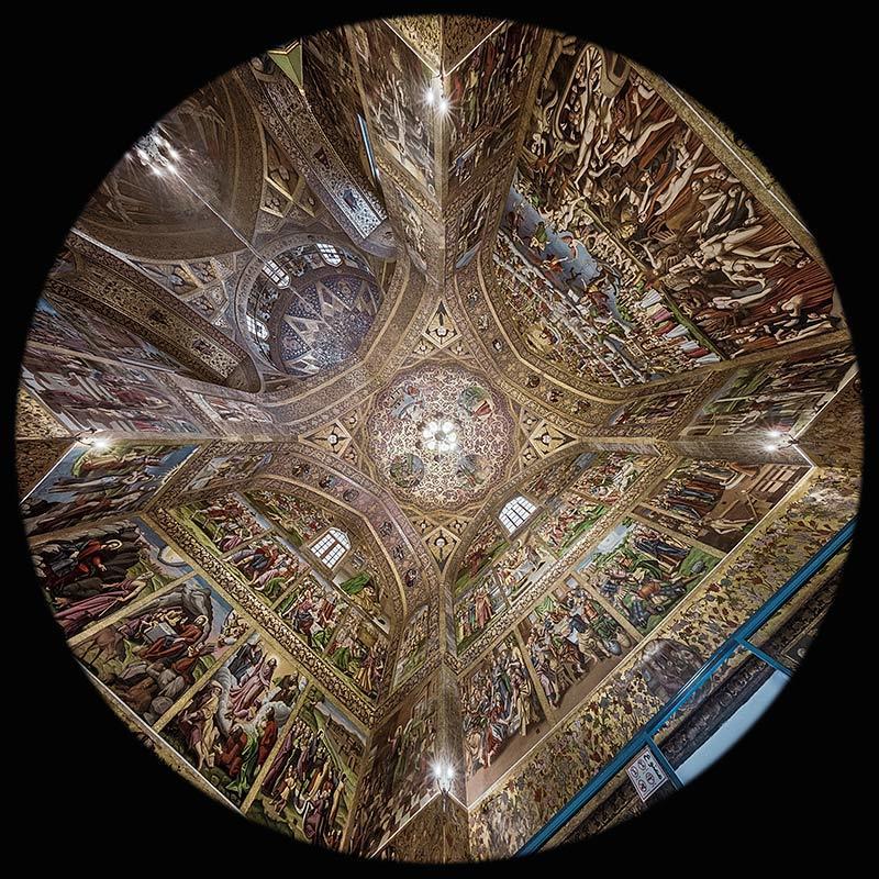la Navata della Cattedrale di Vank a Esfahan