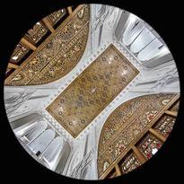 una Sala della Casa Aminiha a Qazvin