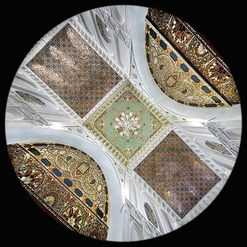 la Sala principale della Casa Aminina a Qazvin