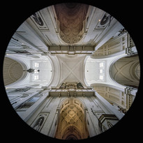 the Nave between the Domes
