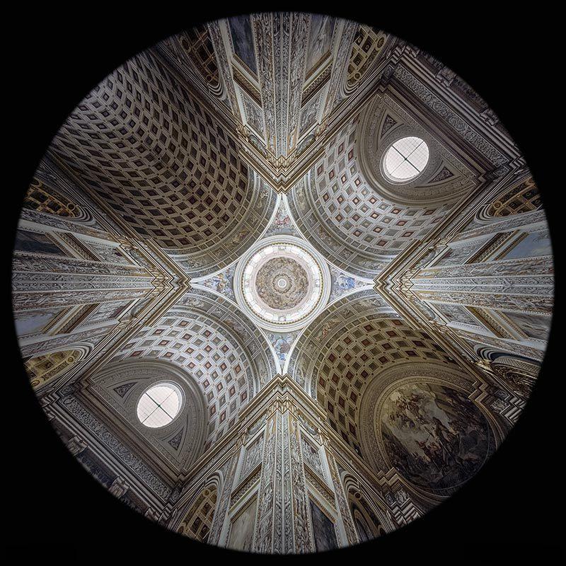 la Cupola di Sant'Andrea a Mantova