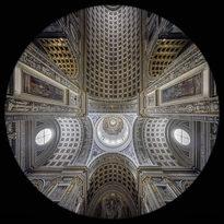 la Navata della Basilica di Sant'Andrea a Mantova