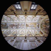 Galleria degli Specchi nel Palazzo Ducale - Mantova