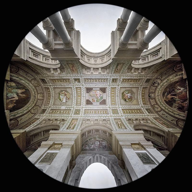 Loggia di David nel Palazzo Te - Mantova